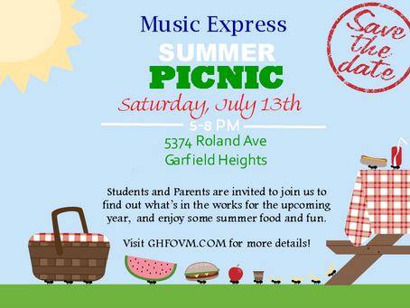 Music Express Summer Picnic