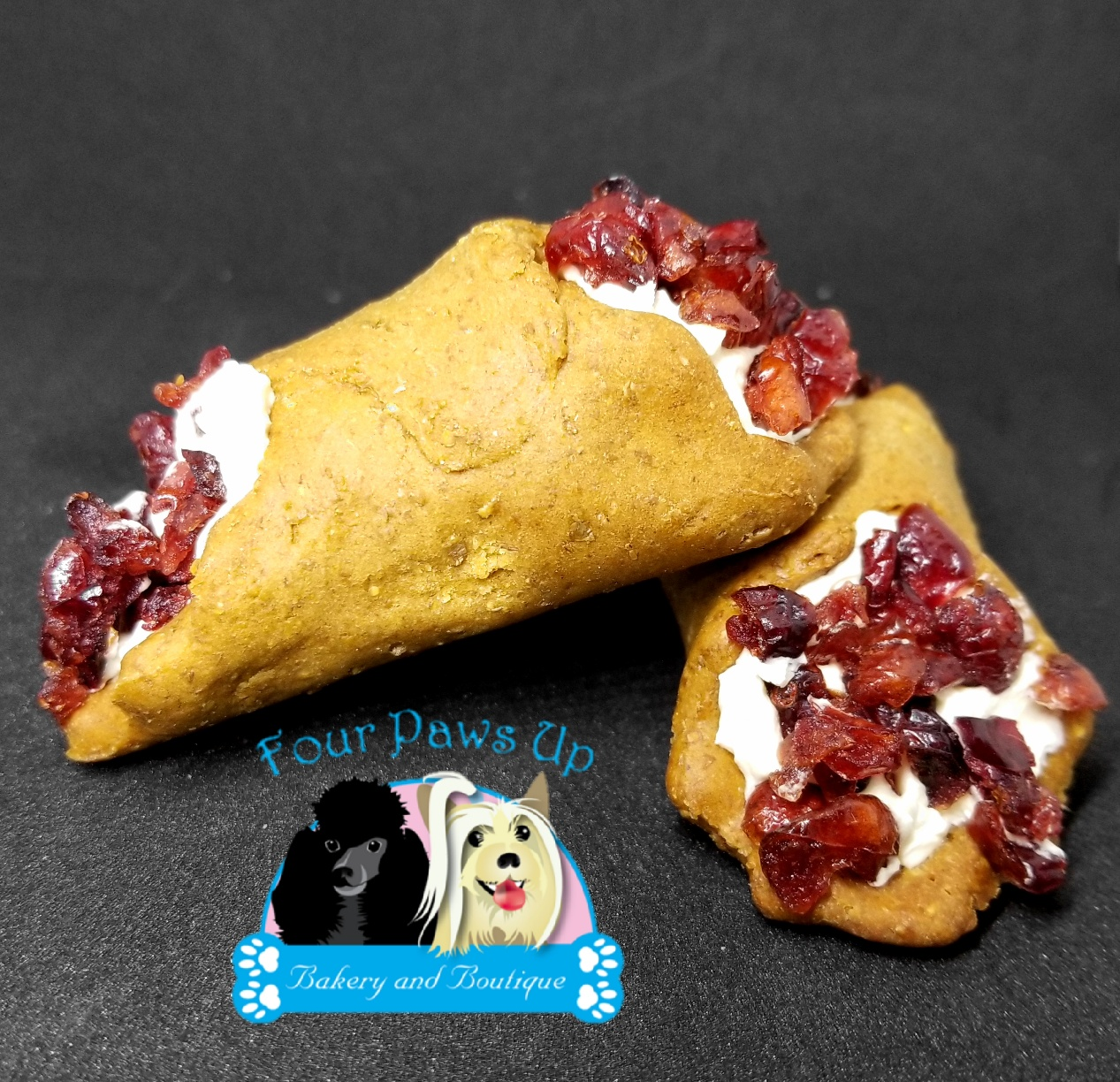 Cranberry Cannoli