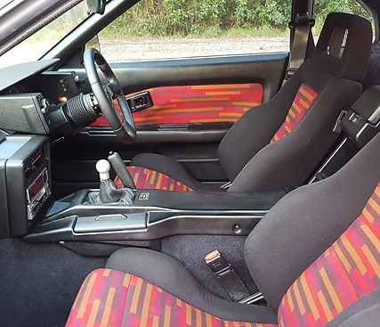 Toyota MR2 AW11 Recaro LSB seats