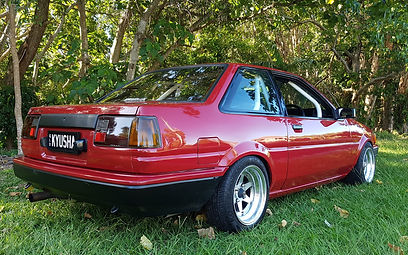 AE86 AE85 Longchamp XR4 wheels Toyota Levin notchback