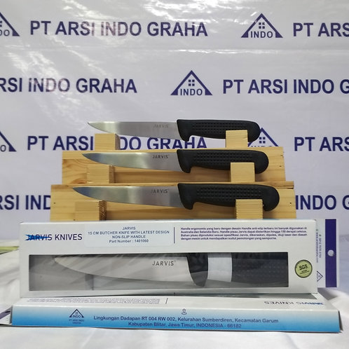 (1401060) JARVIS 16CM BUTCHER KNIFE WITH LATEST DESIGN NON SLIP HANDLE
