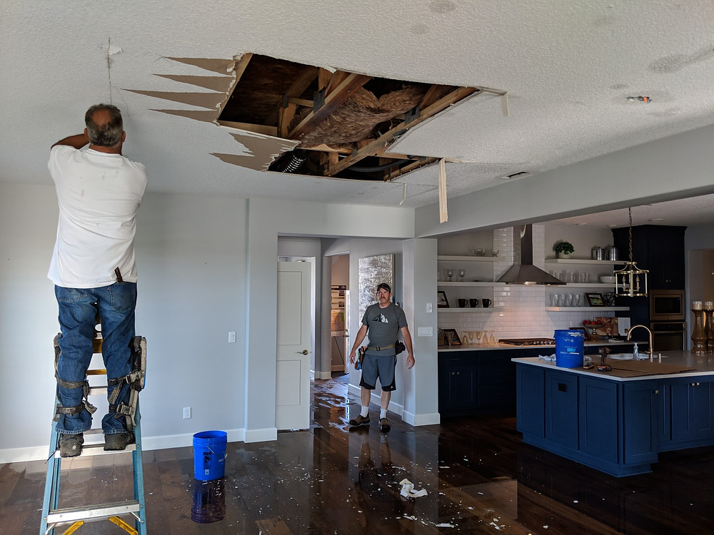 water damage repair vancouver wa