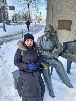 Oscar Peterson, one of Canada's greatest