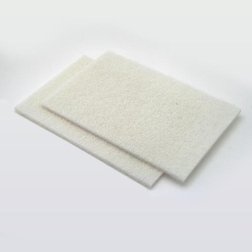 White Fibratex Pad – 6″ x 9″
