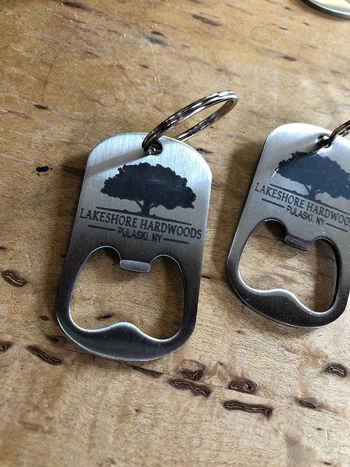 Lakeshore Hardwoods Keychain bottle opener