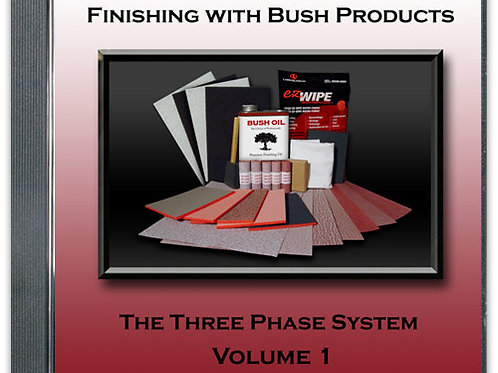 Finishing with Bush Products DVD