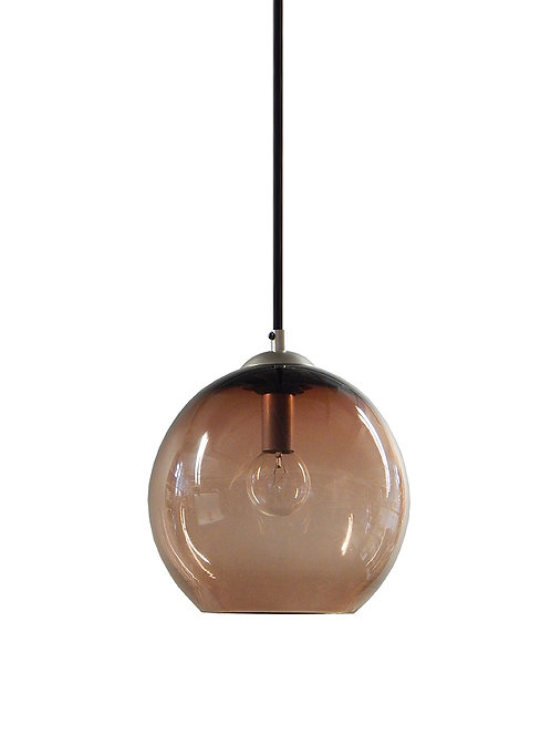 Ombre Glass Hand Blown Classic Globe Pendant Lights