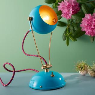 Blue Fiesta Table Lamp