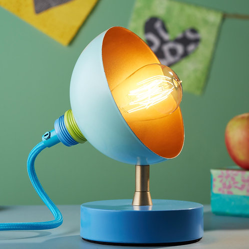 Small Mid Century Fiesta Table Lamp