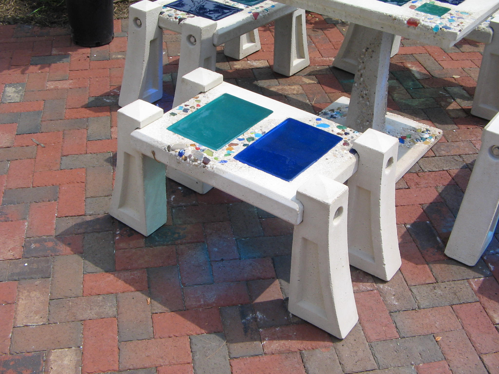 Two Tile Bench