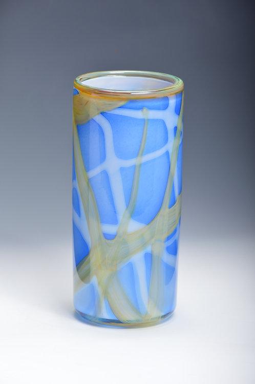 Hand Blown Glass Lava Vases