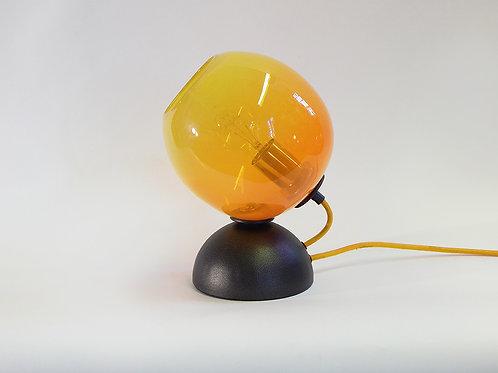 Orange/Yellow Mod Orb Table Lamp