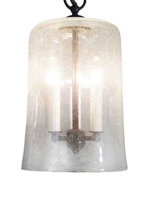 The Lincoln Lantern Candelabra Pendant Light