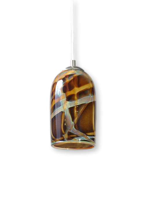 Amber Milky Way Pendant Light