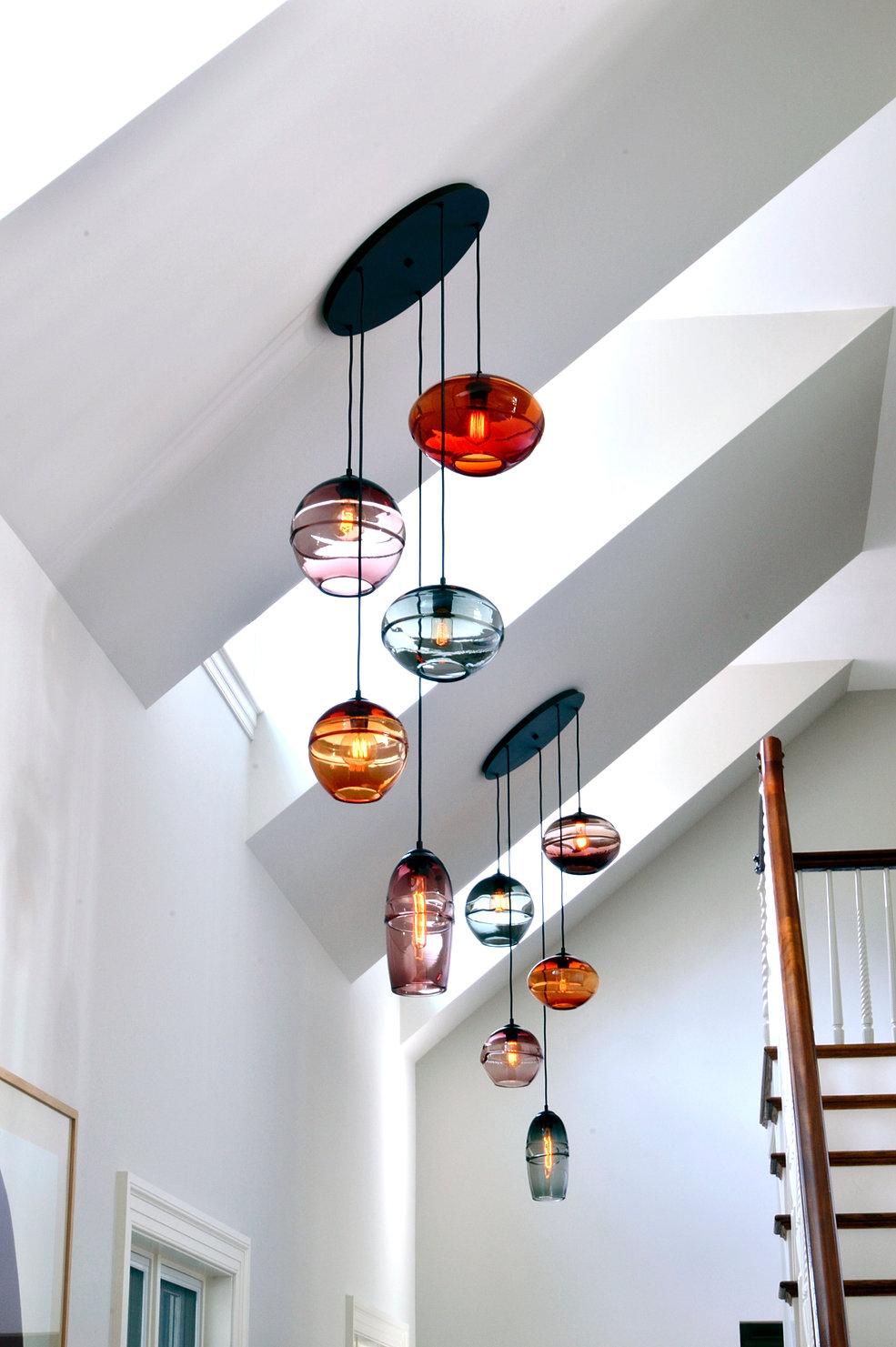 art glass lighting fixtures. Cassandra Chandelier 2 Art Glass Lighting Fixtures H