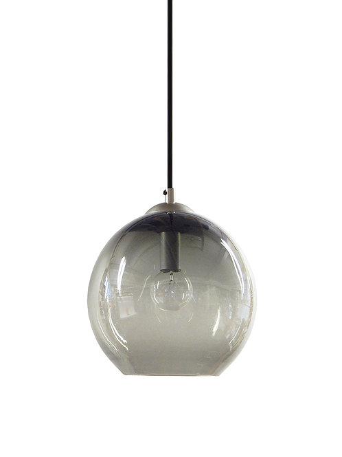 Smoke Gray Hand Blown  Gumball Globe Pendant Lights