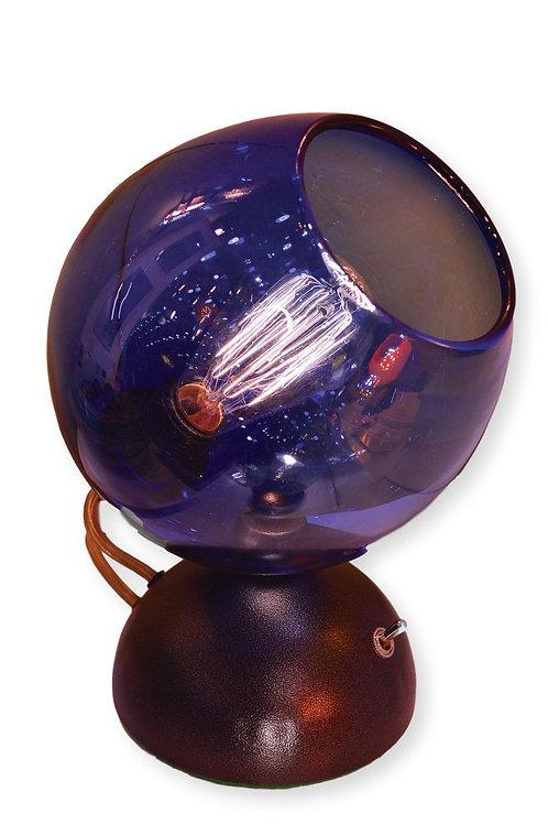 Purple Mod Pod Orb Table Lamp