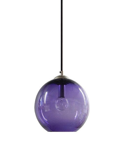 Amethyst  Gumball Globe Pendant Lights