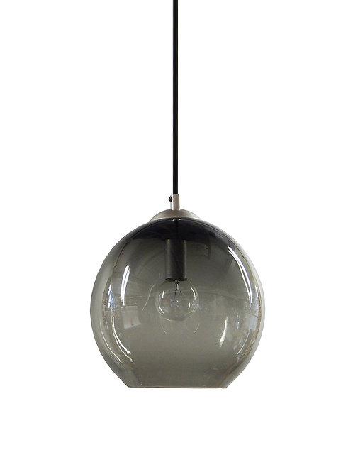 Smoke Gray Gumball Globe Pendant Lights