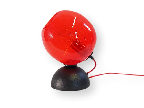 Red Mod Orb Table Lamp