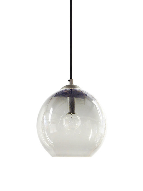 Clear Glass Hand Blown Classic Globe Pendant Lights