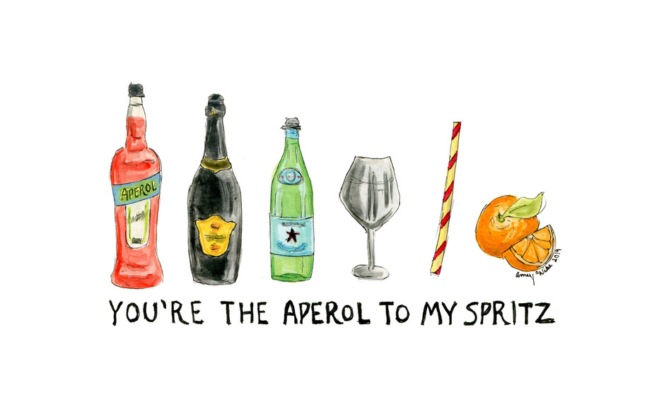Aperol to my Spritz