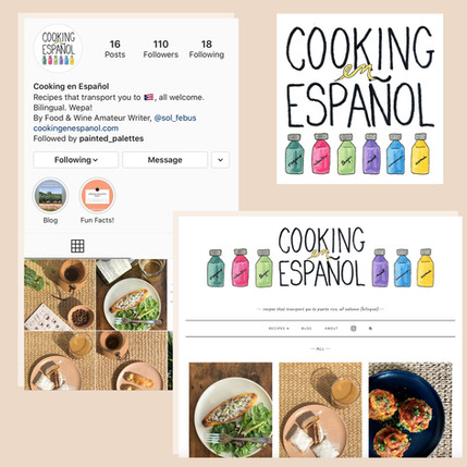 Cooking en Espanol logo