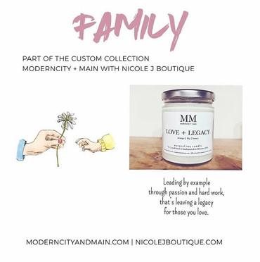 Moderncity + Main x Nicole J Boutique (FAMILY)