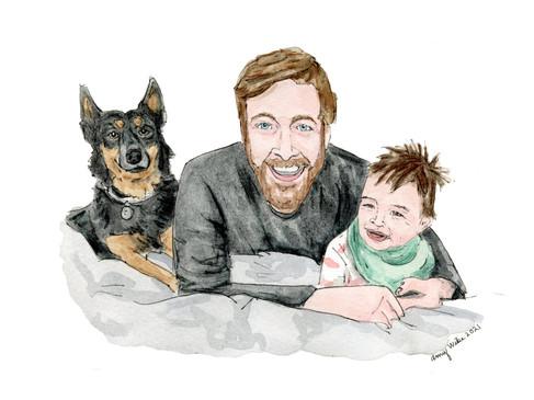 Father's Day Portrait