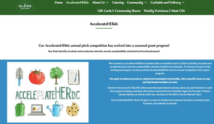 AccelerateHERdc logo