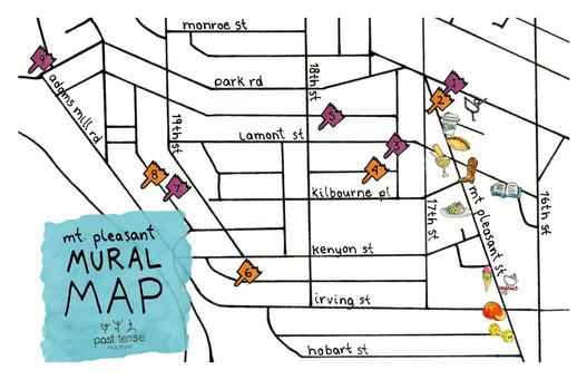 Neighborhood map for Past Tense Yoga