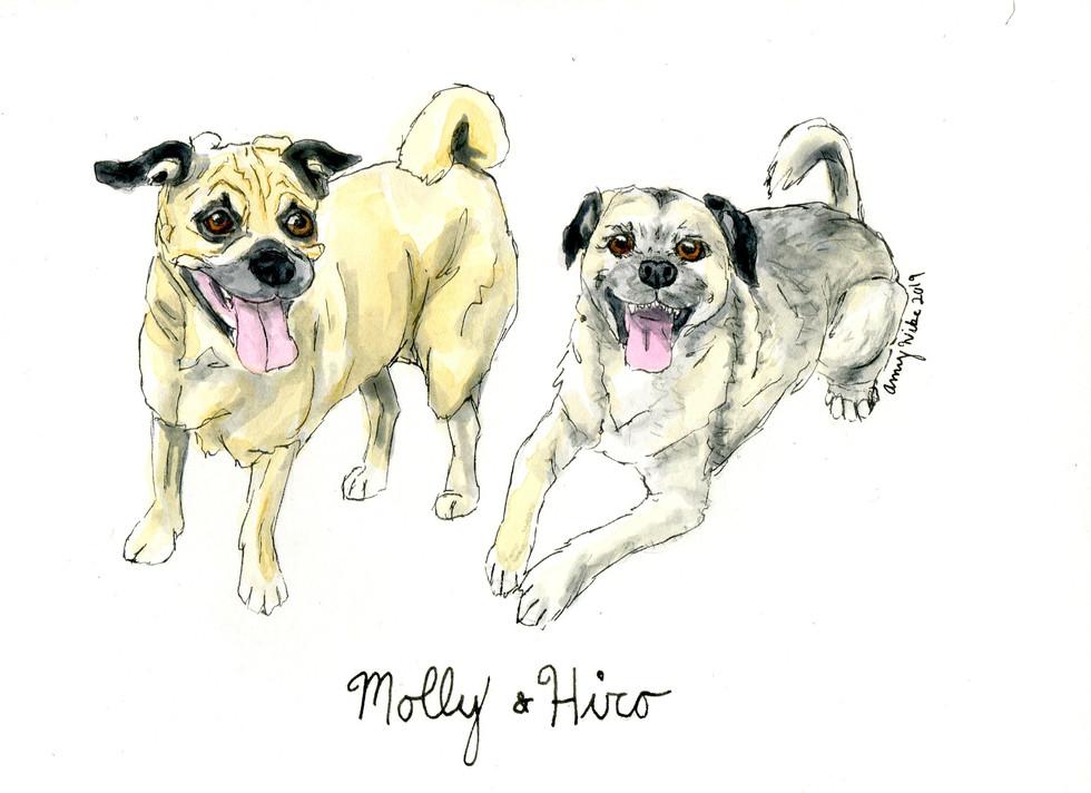 Molly and Hiro