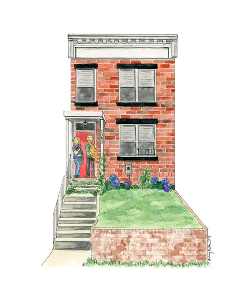 DC Rowhouse with Family