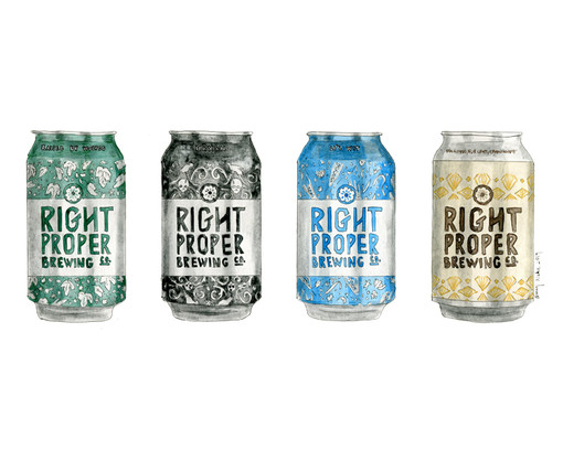 Right Proper Can Line-Up