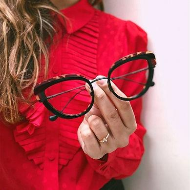 monture lunettes femmes design originale