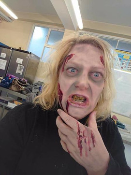 Appearing as a Zombie!