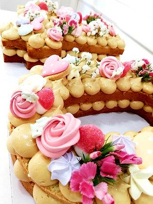 NUMBER CAKE kit DIY