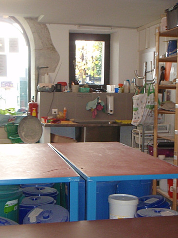 Atelier modelage et émaillage
