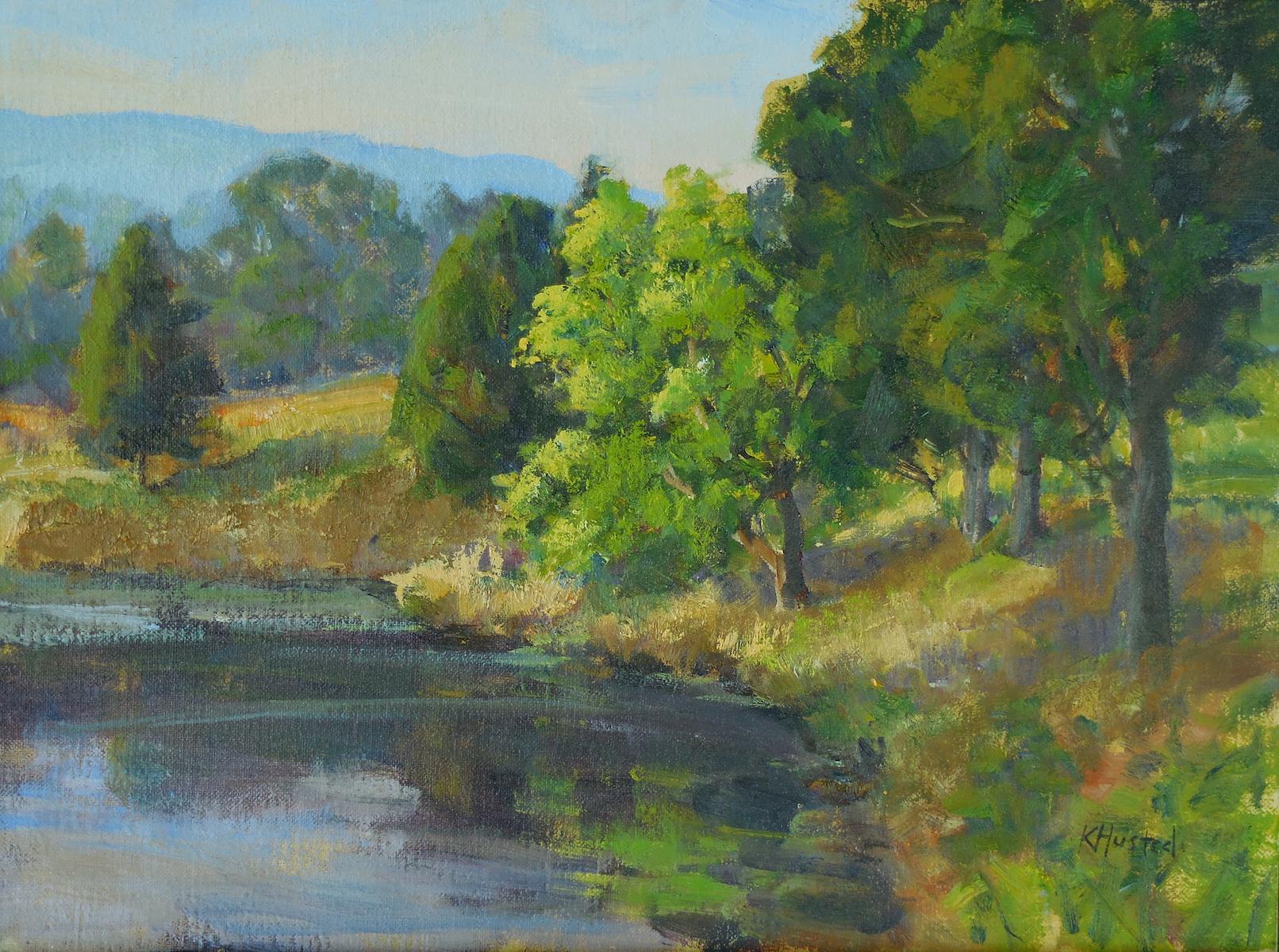 Pond Side 12x16