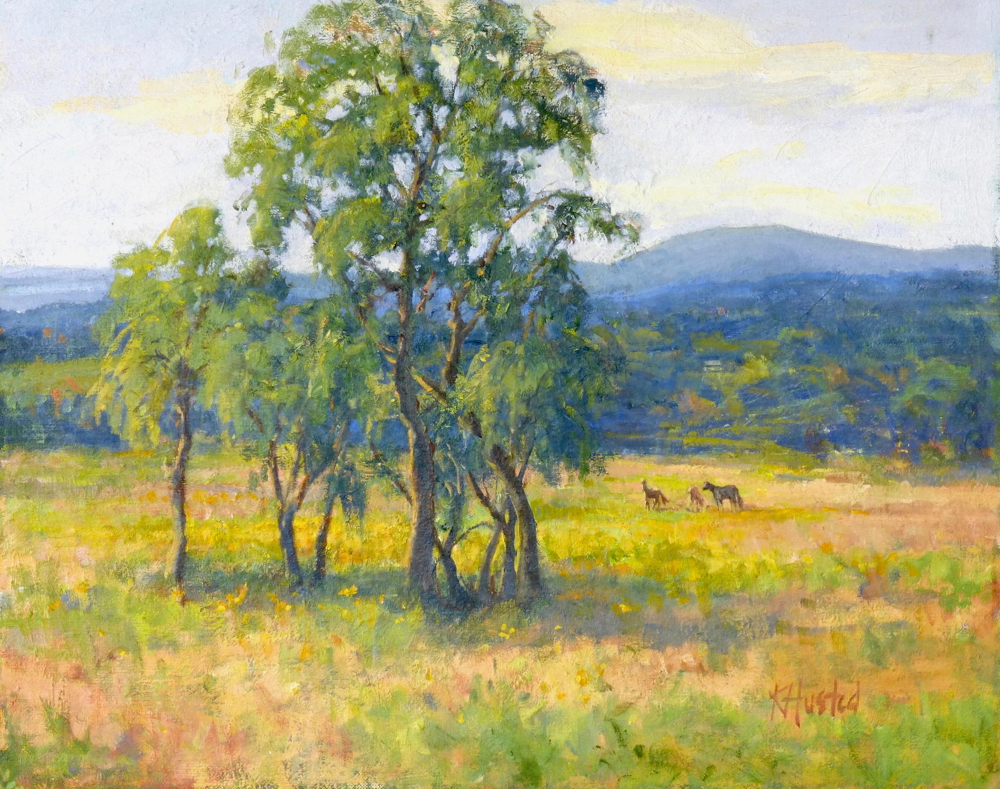 Colorful Pasture 16x20