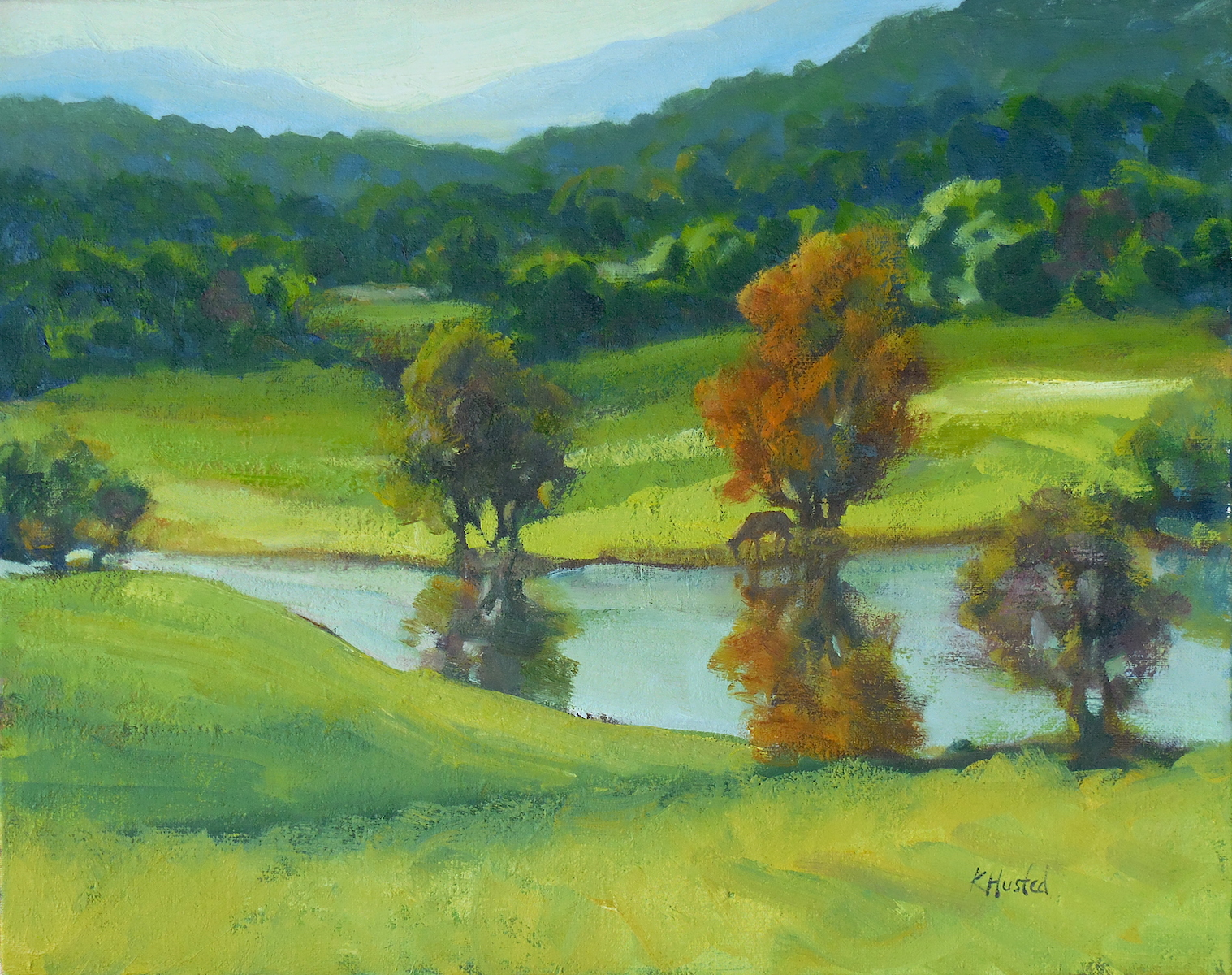 Stream in the Valley 16x20