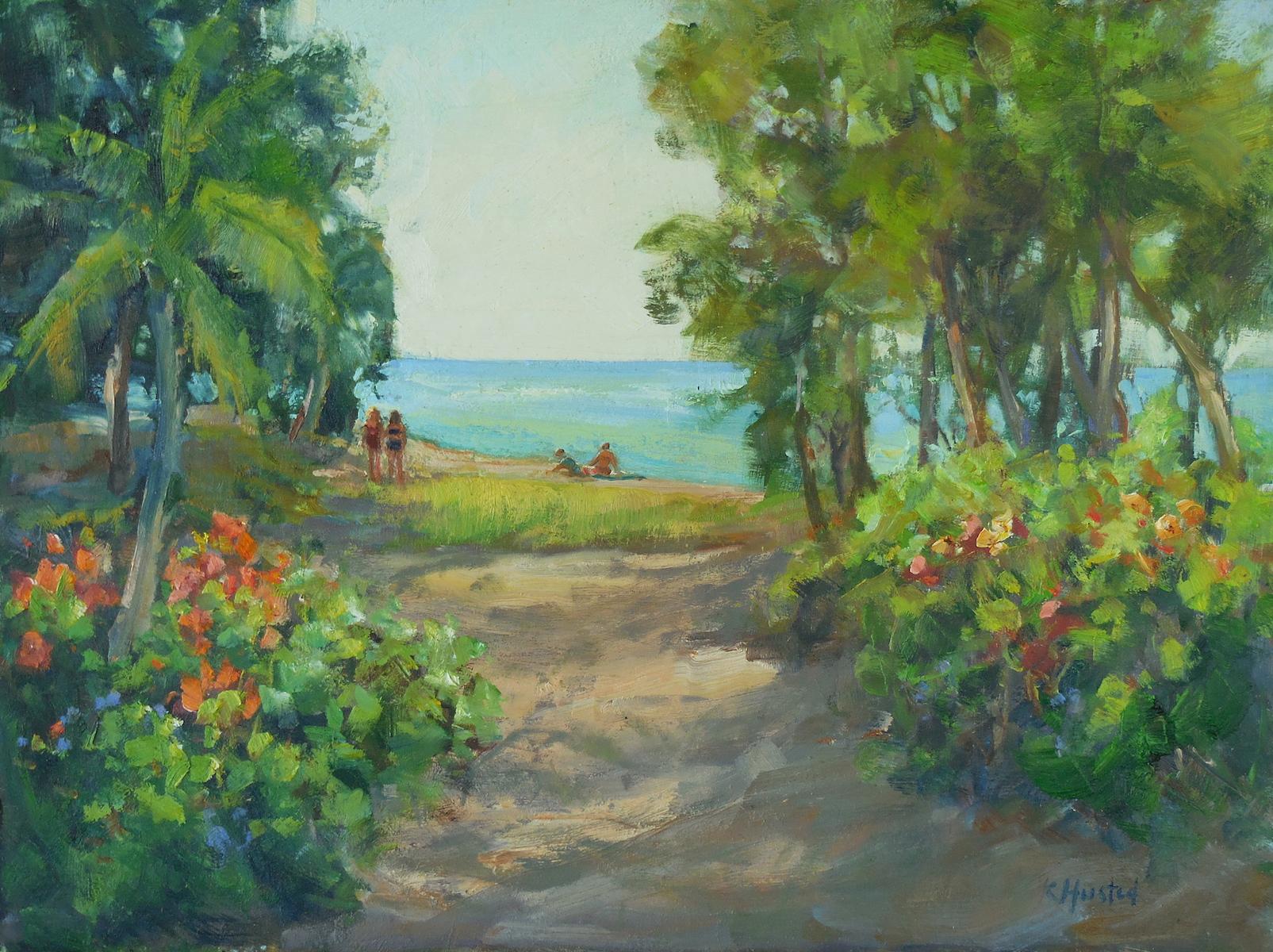 The Beach 12x16