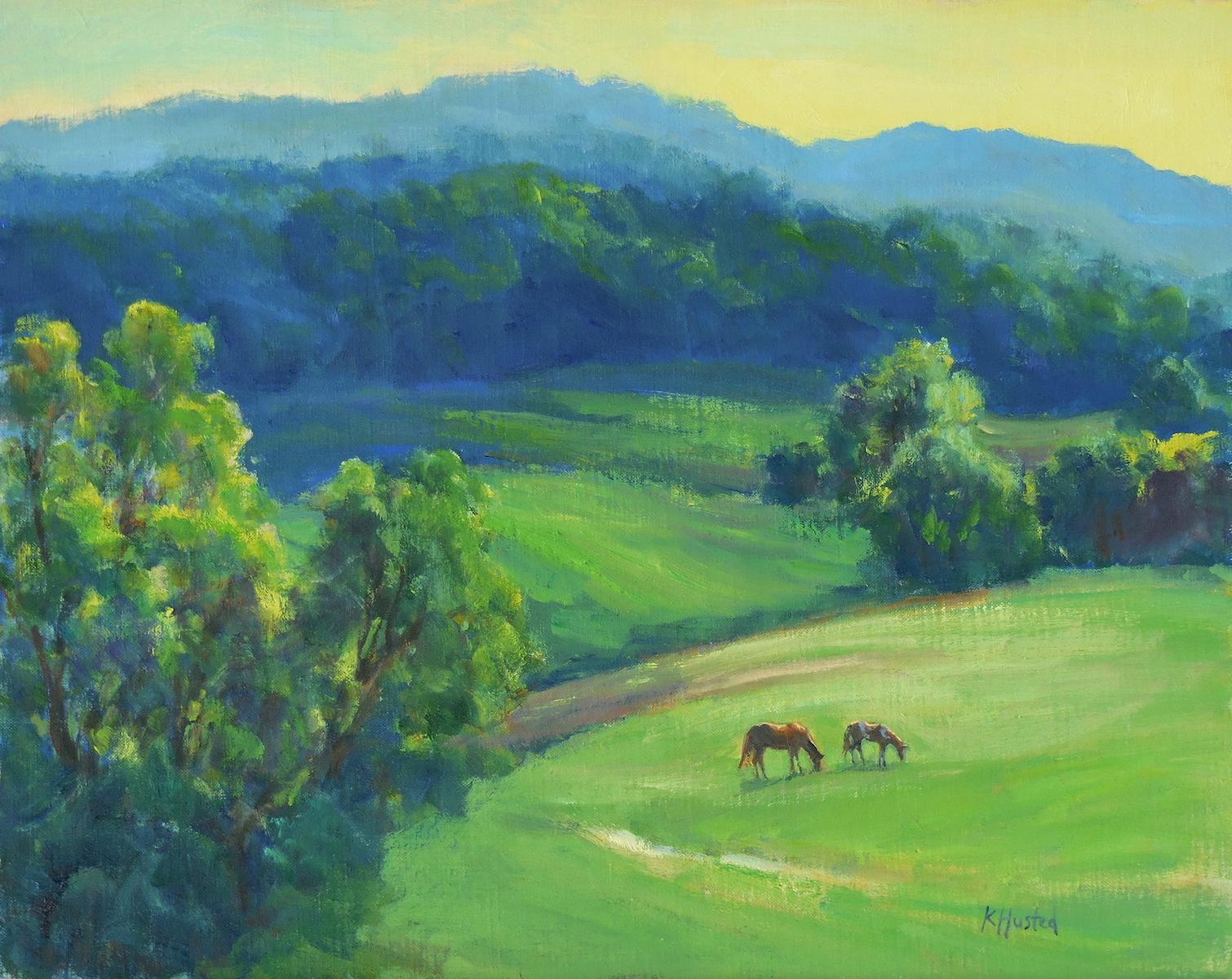 Mountain Morning 16x20