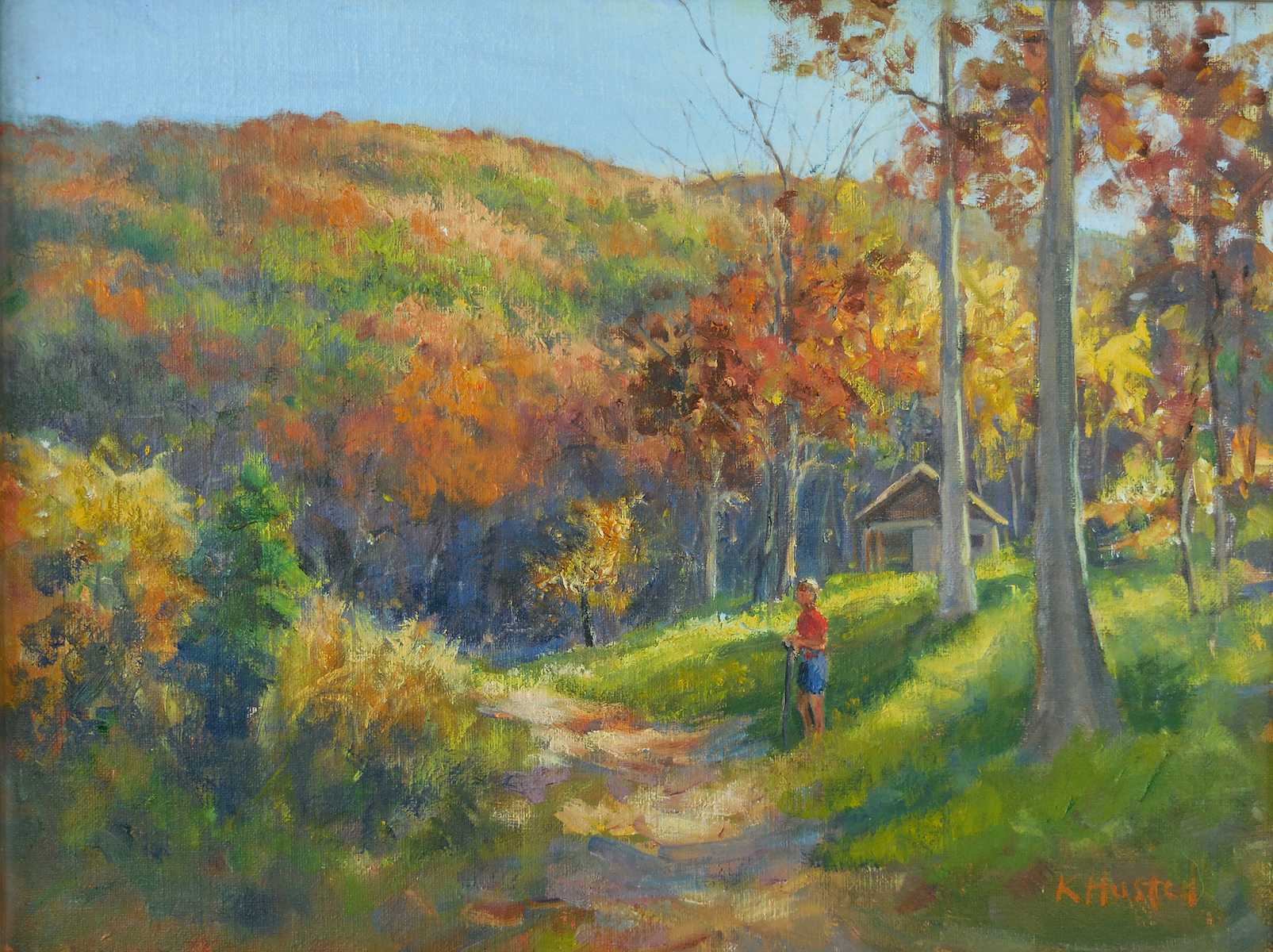 Fall at Goshen Pass 12x16