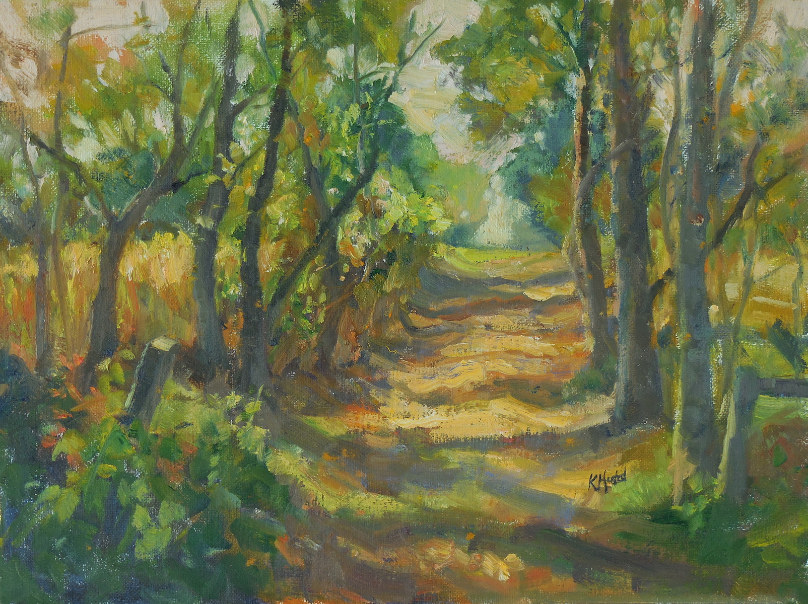 Farm Trail 12x16