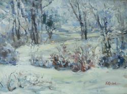 Morning Snow 12x16