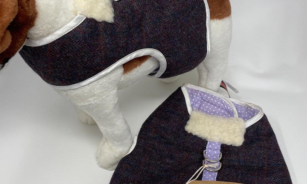 HARNESS Layla purple tweed