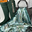 Thumbnail: LILLIE SCARF IN TURQUOISE