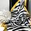 Thumbnail: Zebra Print Scarf