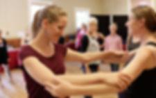 Mira Barakat teaching follower's technique class with Rose Vierlng